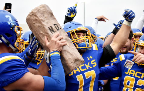 Jacks travel to Fargo to take on top-ranked Bison