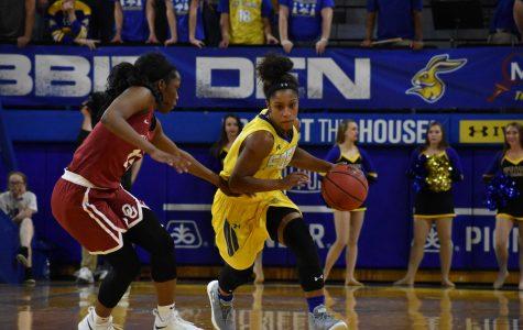 SDSU Women's Basketball against Oklahoma