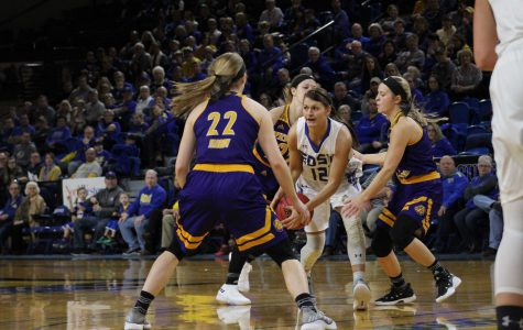 SDSU Women's Basketball against Western Illinois