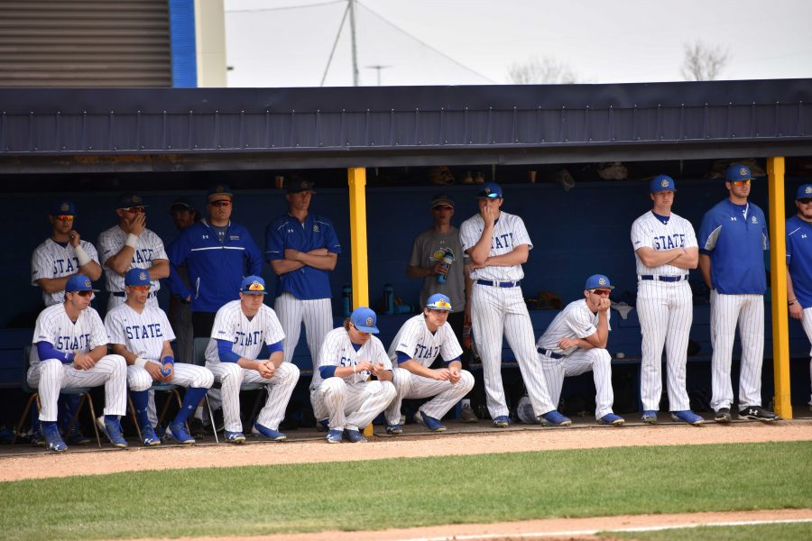 FILE+PHOTO%0ASDSU+hosts+Dakota+Wesleyan+at+3+p.m.+April+4.+The+Jacks+are+2-17+so+far+this+season+and+opened+Summit+League+play+March+16+to+17+against+Oral+Roberts+and+lost+all+three+games+in+the+series.