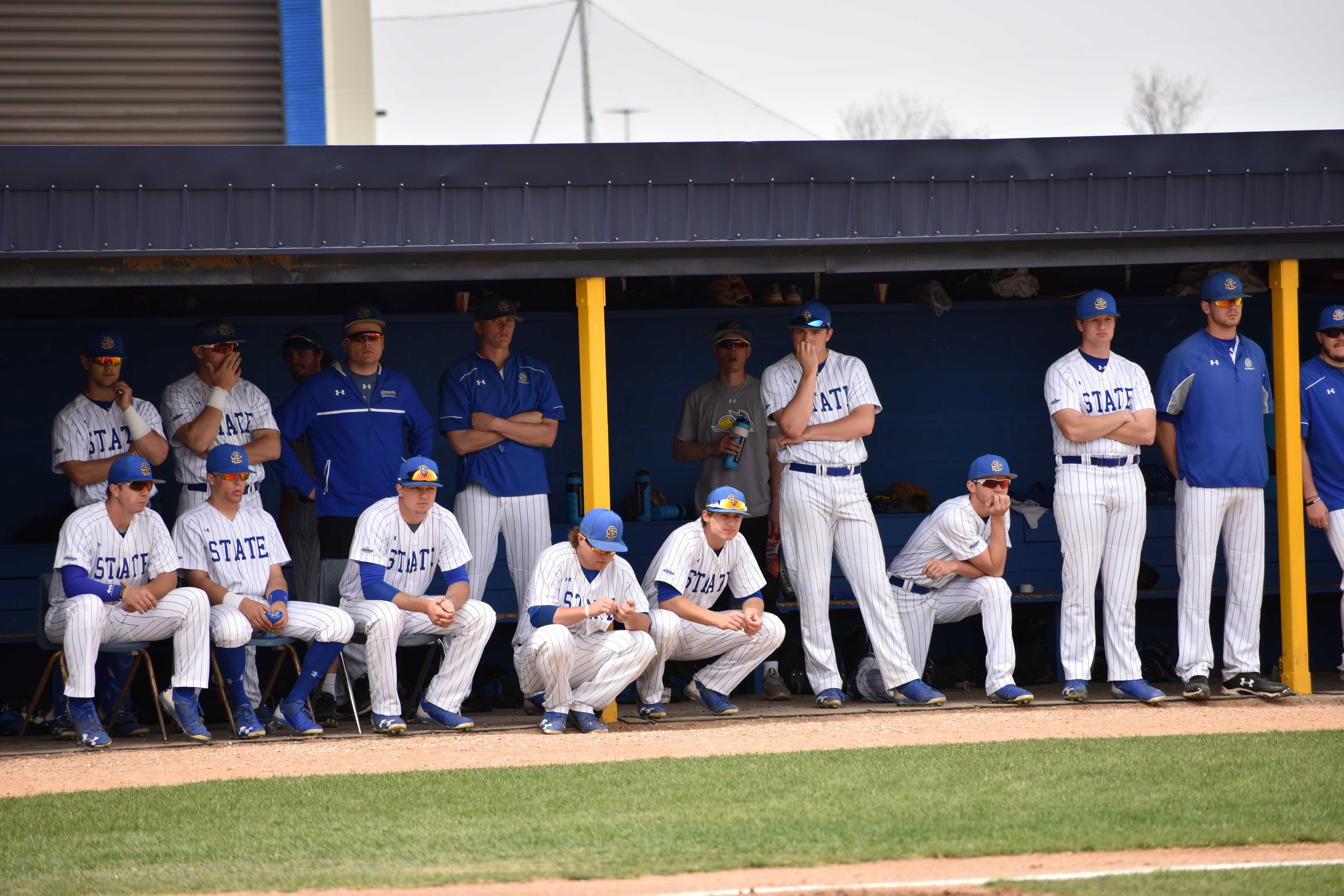 FILE PHOTO SDSU hosts Dakota Wesleyan at 3 p.m. April 4. The Jacks are 2-17 so far this season and opened Summit League play March 16 to 17 against Oral Roberts and lost all three games in the series.