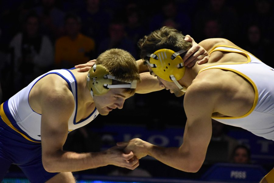 FILE+PHOTO%0AJunior+Seth+Gross+won+the+133-pound+title+at+the+NCAA+Division+I+Tournament+March+17+at+Quicken+Loans+Arena+in+Cleveland%2C+Ohio.