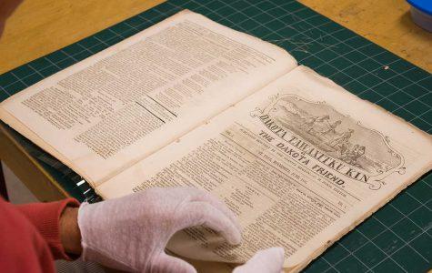 Rare collection of Dakota language newspapers now at Briggs