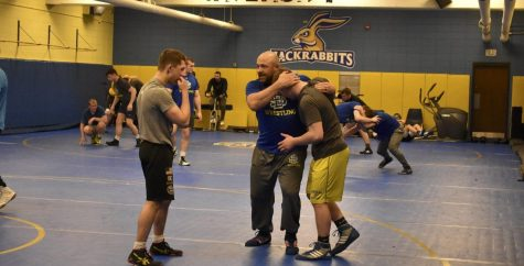 Jacks wrestling in new 'Hahns:' meet next head coach