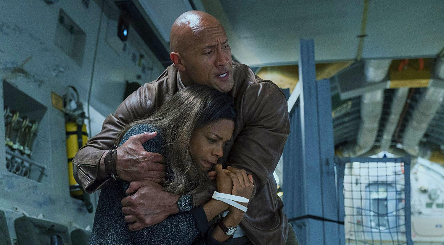 "WARNER BROS. PICTURES Dwayne ""The Rock"" Johnson stars as a primatologist with an agenda in ""Rampage."" The movie smashed through competition to take the number one spot for the weekend box office, outpacing fan favrite ""A Quiet Place"" with $35.9 million."