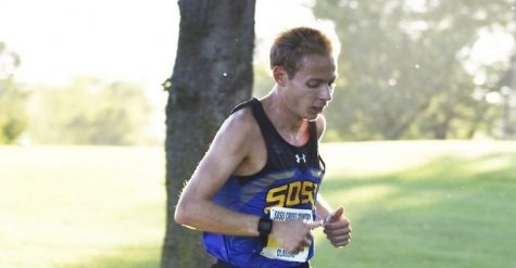 Men's Cross Country wins third straight League title