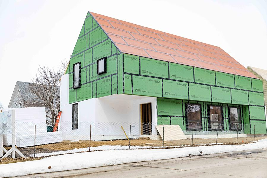 South Dakota State University's Department of Architecture will hold an open house and workshop at its passive house construction site May 19 from noon to 2 p.m.
