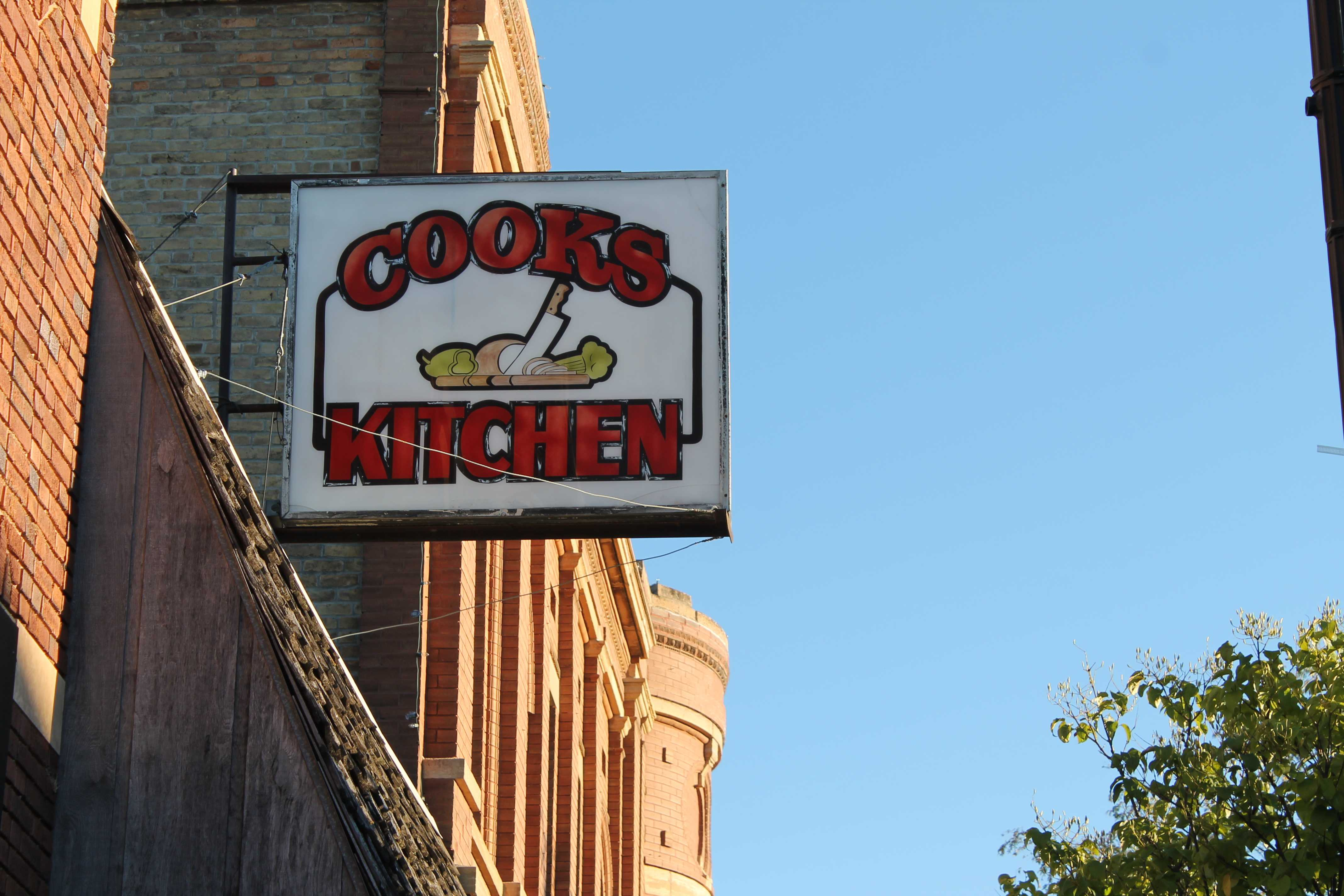JULIA MITCHELL Cook's Kitchen in downtown Brookings serves breakfast and lunch all week.