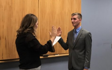 SA swears in new senator, approves two new student clubs