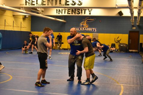 Hahn-dling transition: Hahn hopes for wrestling success