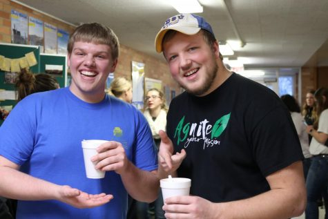 CAFES students find their flavor at hot chocolate social