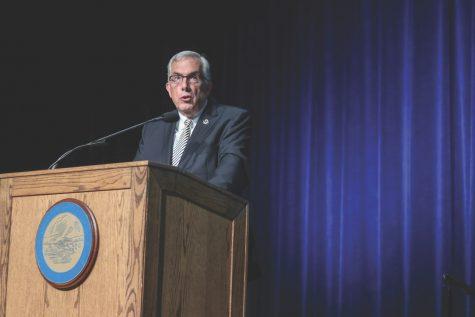 Dunn address enrollment, Imagine 2023 in State of the University