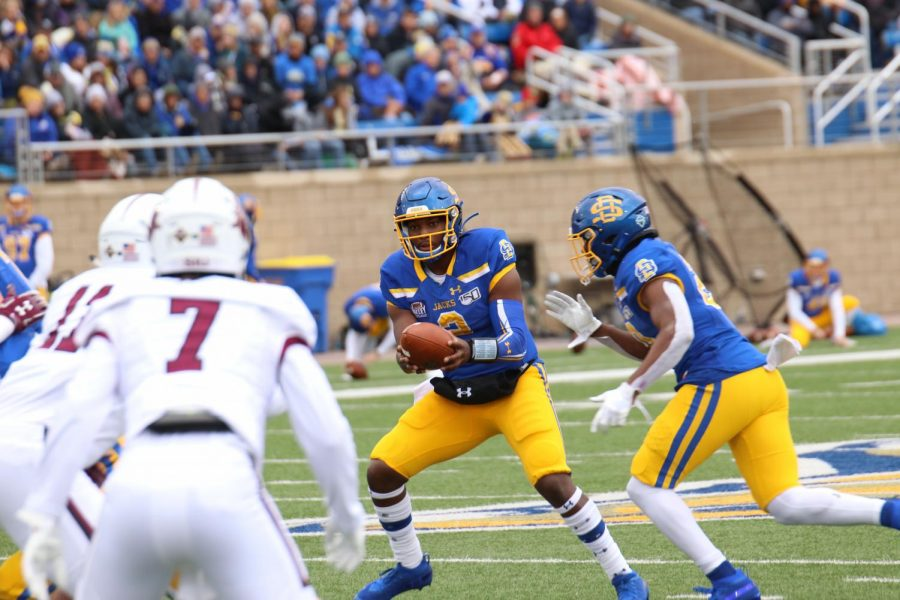 Gibbs, Strong carry SDSU over Indiana State