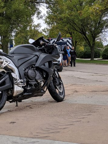 Student receives minor injuries in motorcycle accident on campus