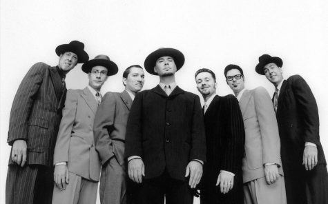 Big Bad Voodoo Daddy debuts on campus