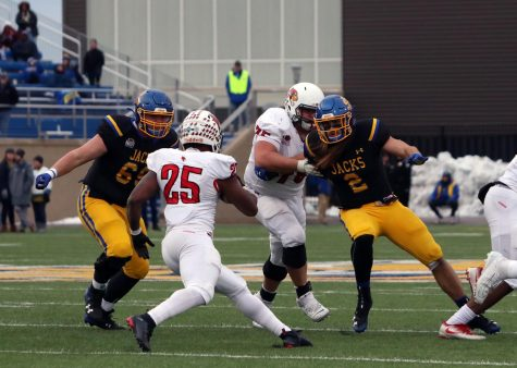 Second-half miscues doom No. 4 Jackrabbits